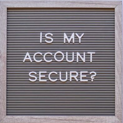 is my account secure